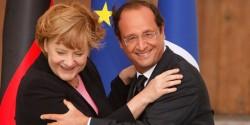 Hollande Merkel 2