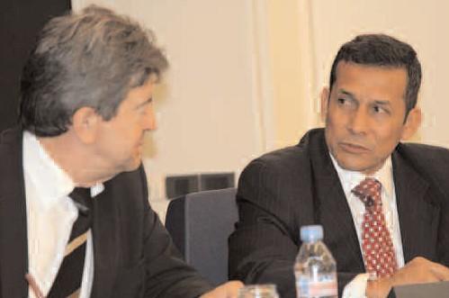 12-Avec Ollanta Humala, Président de la République du Pérou