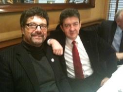 21-Avec Diteher Diehm, député allemand, porte-parole sur les questions européennes de Die Linke, lors de la Conférence