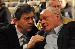 17-Avec Oskar Lafontaine, fondateur de Die Linke, lors du Congrès du Parti de la Gauche Européenne à Paris en 2010