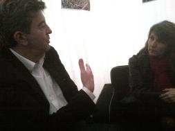16-Avec la secrétaire internationale du PT brésilien. Iole Iliada. Fête de l'Humanité Septembre 2012.