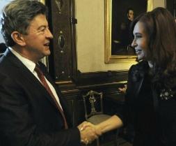 01 - Avec la Présidente Cristina Fernandez de Kirchner dans son bureau à la Casa Rosasada, Buenos Aires 11 Octobre 2012