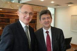 02-Rencontre avec le Ministre argentin des Affaires Etrangères, Héctor Tinmerman dans son bureau du Palacio San Martin, Buenos Aires, 10 Octobre 2012
