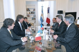 04-Rencontre avec Amado Boudou en compagnie du député Marcelo Brignoni et du camarade Arnaldo Piñon membre du Parti de Gauche en Argentine, Buenos Aires, 11 Octobre 2012