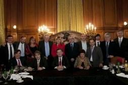 06-Rencontre avec les représentants des groupes parlementaires de députés et sénateurs du Front pour la victoire, Congrès de la Nation Argentine, Buenos Aires, 11 Octobre 2012
