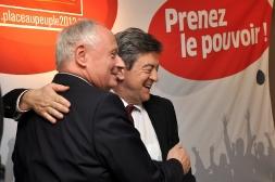 18-Avec Oskar Lafontaine, fondateur de Die Linke et ancien ministre de l'Economie et des finances de l'Allemagne, Janvier 2012