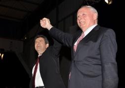 20-Avec Oskar Lafontaine, fondateur de Die Linke et ancien ministre de l'Economie et des finances de l'Allemagne, Janvier 2012