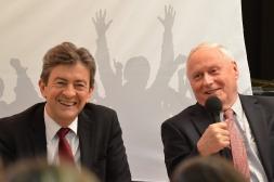 19-Avec Oskar Lafontaine, fondateur de Die Linke et ancien ministre de l'Economie et des finances de l'Allemagne, Janvier 2012